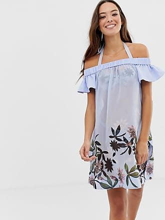 Ted Baker Belriaa floral bardot cover up - Multi