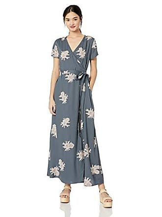 9d1a1cf7bcf2 Roxy Juniors District Day Maxi Wrap Dress