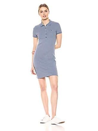 16e29e4ad Lacoste Womens Classic Short Sleeve Stretch Mini Pique Polo Dress