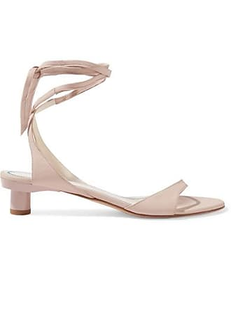 Tibi Scott Glove Leather Sandals - Pastel pink