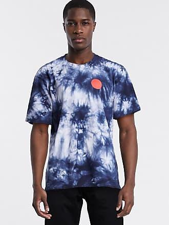 Edwin Japanese Sun - T-shirt blu navy tie-dye
