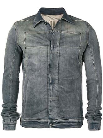 Rick Owens faded denim jacket - Grey