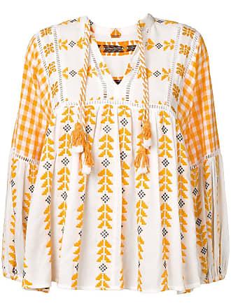 Dodo Bar Or Blusa com bordado - Branco