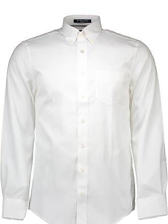 a2fb76f220de GANT Mens Mens The Pinpoint Oxford Shirt in White - M