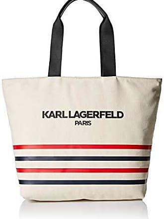 Karl Lagerfeld Womens Kristen Tote, Stripe