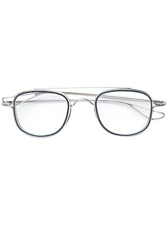 a8d2cff8b00cc Dita Eyewear Armação de óculos quadrada banhada a ouro - Prateado