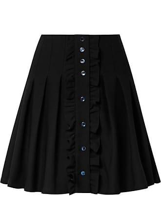 7baecfd63c12f A.P.C. Mini-jupe Plissée En Crêpe À Fronces Victoria - Noir