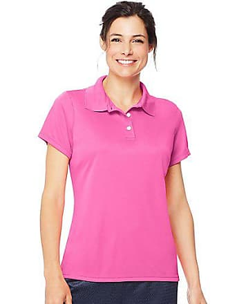 9937f23b Hanes Sport Womens FreshIQ Cool DRI Performance Polo Deep Royal 2XL