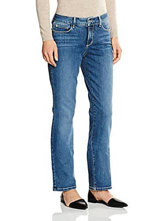 775f6ef06d442 NYDJ MARILYN STRAIGHT, Jeans Droit Femme, Bleu (Heyburn), 34 (Taille