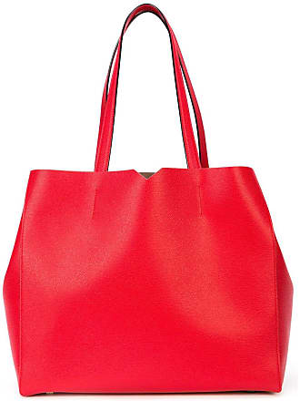 Valextra large tote bag - Vermelho