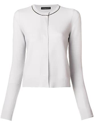 Fabiana Filippi cropped cashmere cardigan - Grey