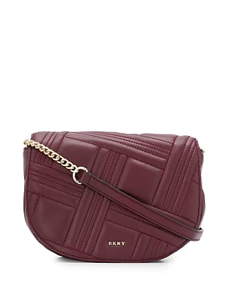 DKNY quilted cross body bag - Roxo