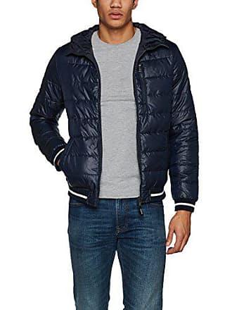 1670ea4eccd7 Tom Tailor Denim Lightweight Fake Down Jacket, Giacca Uomo, Blu (Sky  Captain Blue
