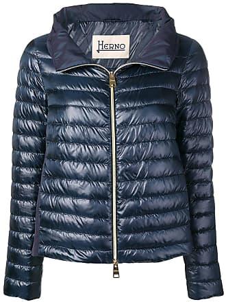 Herno short puffer jackets - Blue