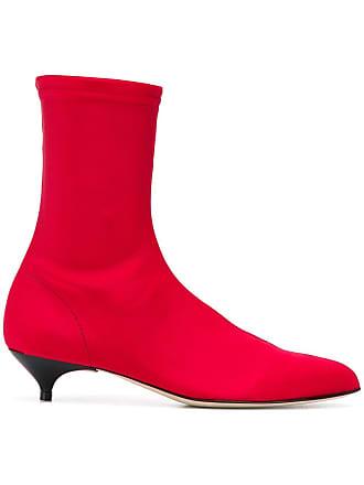 Gia Couture Stivaletti con tacco - Di Colore Rosso 5faa7dd9f3d