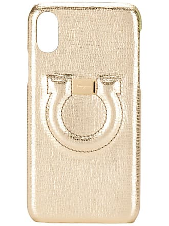 Salvatore Ferragamo iPhone X phone case - Gold
