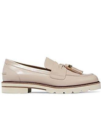 Stuart Weitzman Stuart Weitzman Woman Tassel-trimmed Leather Loafers Neutral Size 36