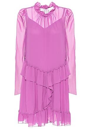 fad31b7057695 See By Chloé Mini-robe en crêpe à volants