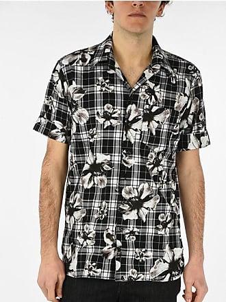 Neil Barrett Checked Floral Shirt size Xl
