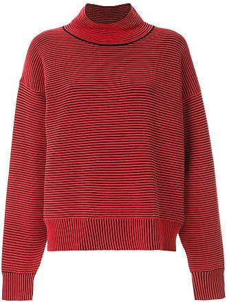 Nagnata Suéter de tricô canelado - Vermelho
