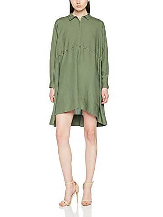 f206694139ded French Connection Ellesmere, Robe Femme, Vert (Shady Meadow Green), 40