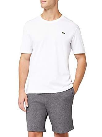 1dcc14906a9 Lacoste TH7618 - T-Shirt - Homme - Blanc (Blanc) - FR