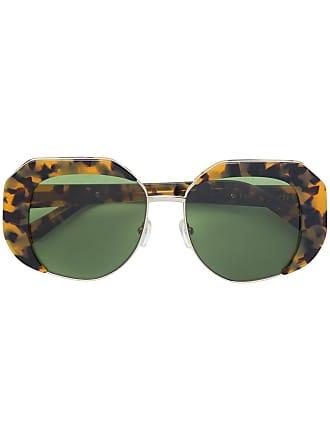 Karen Walker Óculos de sol Domingo - Neutro