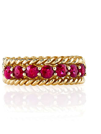 The Last Line Ruby Twist Ring