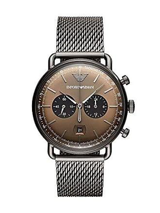 Emporio Armani Relógio Empório Armani Masculino Aviator Grafite Ar11141/1cn