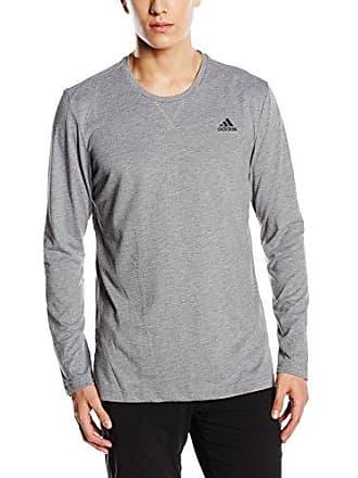 c4d89471459 adidas Adidas heren shirt Essentials Longsleeve, grijs, S