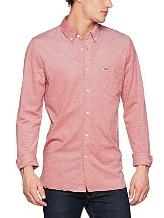 685ede70dc0c Lacoste CH9568 Chemise Business Homme Rouge (Coccinelle Blanc) 46 (Taille  Fabricant