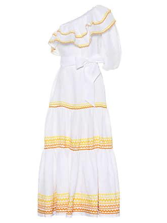 Lisa Marie Fernandez Arden off-the-shoulder linen dress