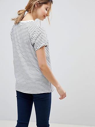 4ce4742fb74 Asos Maternity ASOS DESIGN Maternity easy t-shirt in stripe 2 pack SAVE -  Multi