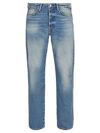 Acne Studios 1996 Straight Leg Jeans - Mens - Blue