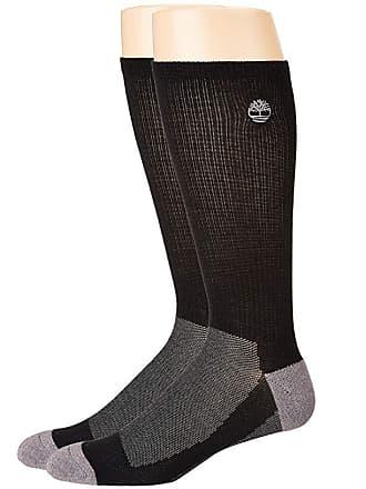92cf0ba22 Timberland 2-Pair Pack Coolmax Crew (Black) Mens Crew Cut Socks Shoes