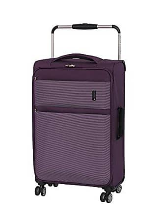 IT Luggage Worlds Lightest Debonair 27.8 8 Wheel Spinner, Purple/White