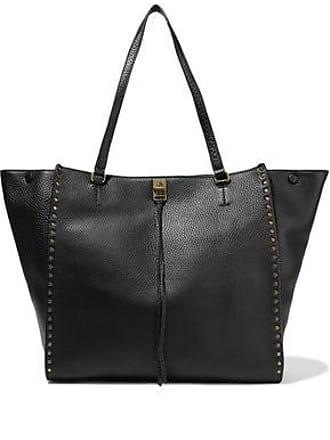 75322eae4 Rebecca Minkoff Rebecca Minkoff Woman Darren Studded Pebbled-leather Tote  Black Size