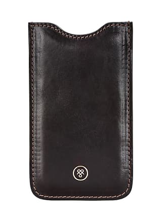 Maxwell Scott Maxwell Scott - Luxury Chocolate Leather iPhone 6 Case