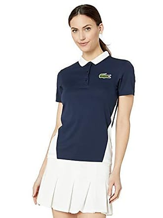 Lacoste Womens Sport Miami Open Edition Piqué Polo, Navy Blue, 12