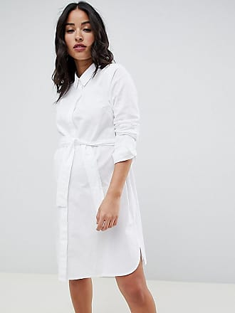 6a79e737a Asos Maternity ASOS DESIGN Maternity cotton mini shirt dress with tie belt