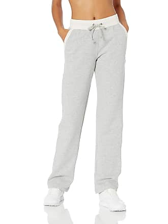 9e6e7a617cf9 Champion Womens Fleece Open Bottom Pants M1064 - Oxford Heather-Oatmeal  Heather - S