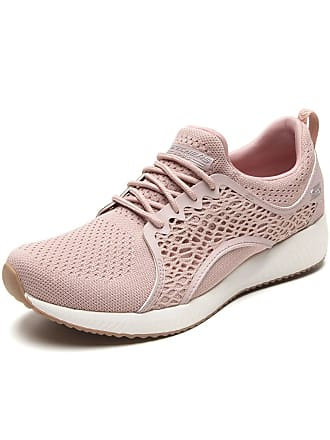 Skechers Tênis Skechers Performance Bobs Squad - Pocket Ac Rosa