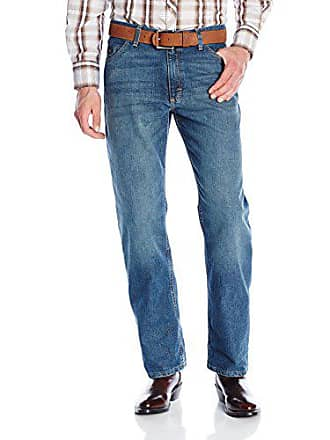 Wrangler Mens 20X Cool Vantage Competition Relaxed Fit Storm Blue Jean, Storm Blue, 31x36