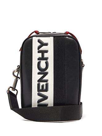 b6a5437b1f9ff0 Givenchy Mc3 Logo Appliqué Leather Cross Body Bag - Mens - White Black