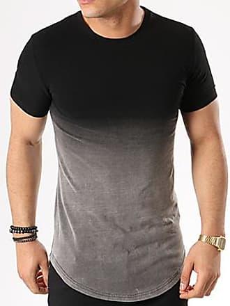 3193aea4683 John H Tee Shirt Oversize 143 Noir Dégradé Gris