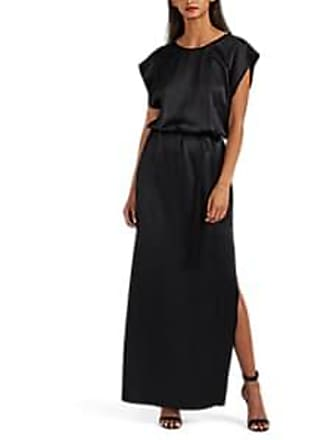 3264bb957b152e Nili Lotan Womens Lillian Silk Charmeuse Gown - Black Size S
