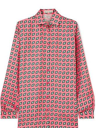 Etro Printed Silk-twill Shirt - Pink
