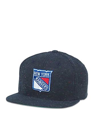 American Needle NHL New York Rangers Fleck Patterned Flat Brim Baseball Cap