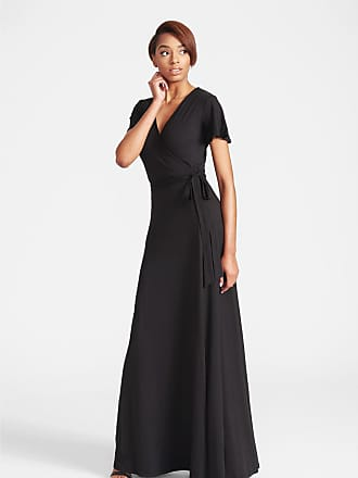 Alloy Apparel Tall Anna Short Sleeve Maxi Dress Black Size XXL/T