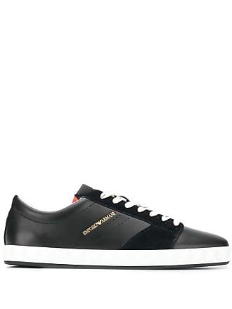 Emporio Armani low-top sneakers - Black